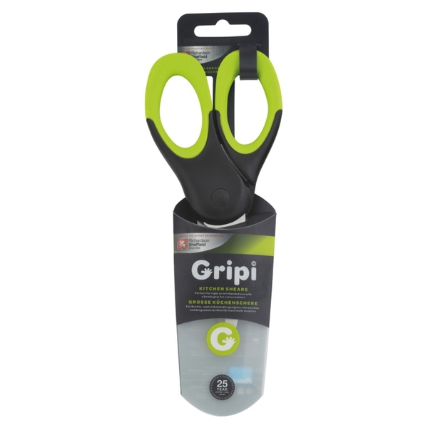 Gripi Kitchen Shear Green