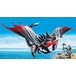 Playmobil - DreamWorks Dragons Deathgripper with Grimmel Figure - Image 2