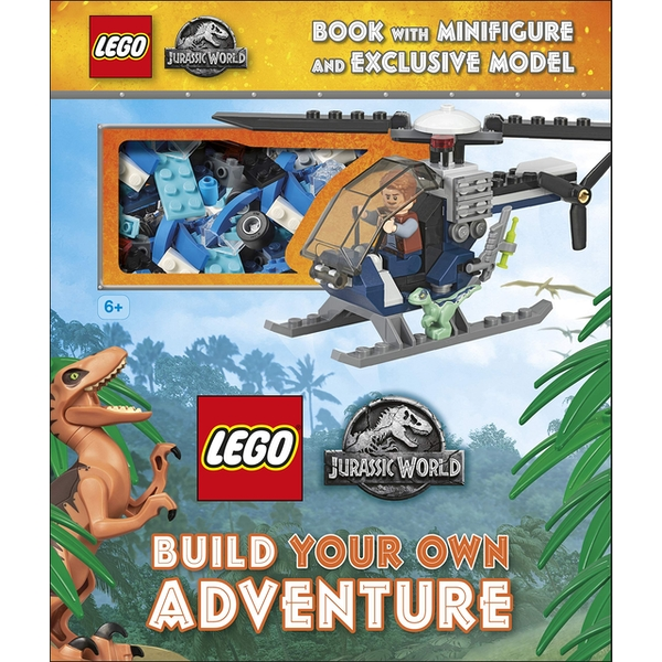 LEGO Jurassic World Build Your Own Adventure Book & Playset
