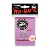 Ultra Pro Matte Pink 50 Sleeves DPD - 12 Packs