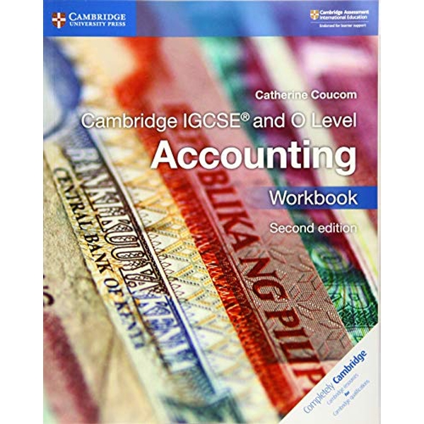 Cambridge IGCSE (R) and O Level Accounting Workbook  Paperback / softback 2018