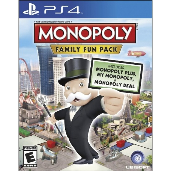 Hasbro Monopoly Family Fun Pack PS4 Game