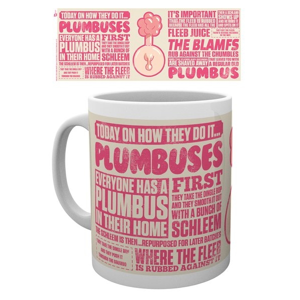 Rick and Morty - Plumbus How They Do It Mug