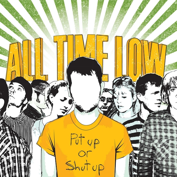 All Time Low - Put Up Or Shut Up Vinyl