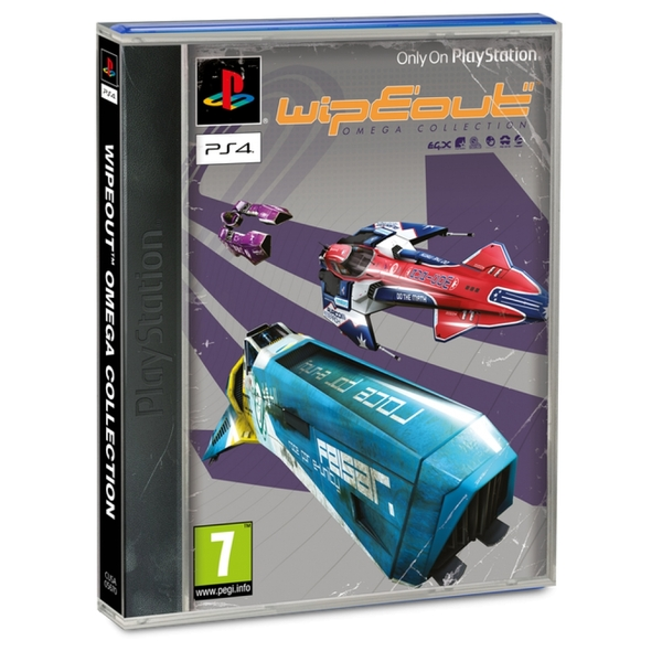 Wipeout Omega Collection PS4 Game (with Exclusive Classic Sleeve)