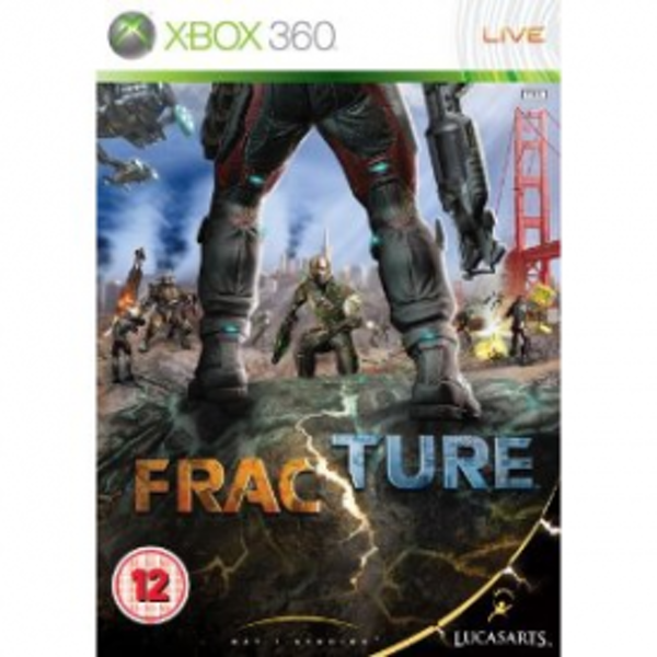 Fracture Game Xbox 360
