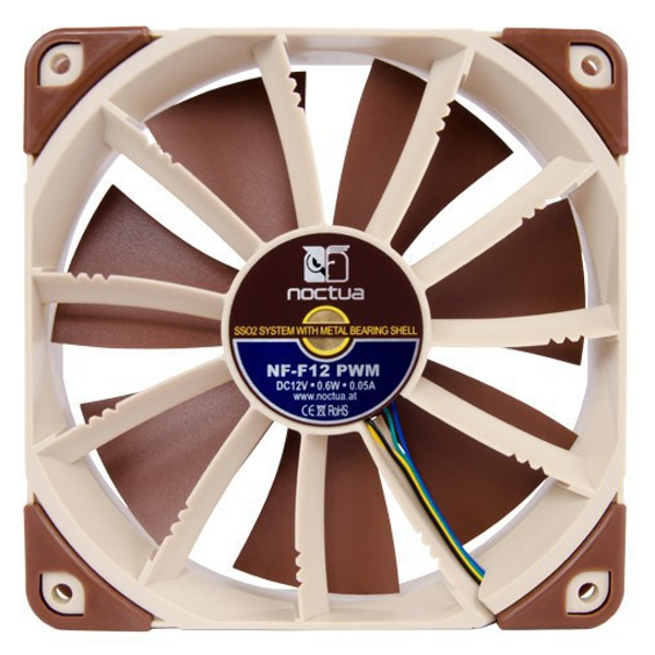 Noctua NF-F12 PWM 120mm Focused Flow PWM Cooling Fan