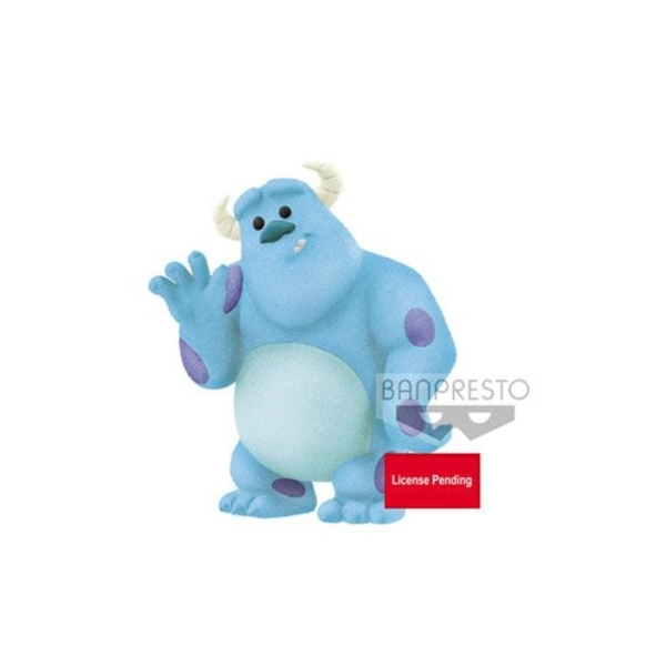 Sulley (Monsters Inc) Disney Pixar Fluffy Puffy Petit Mini Figure