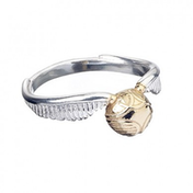 Stainless Steel Golden Snitch Ring- Large
