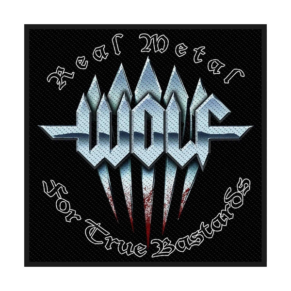Wolf - Real Metal Standard Patch