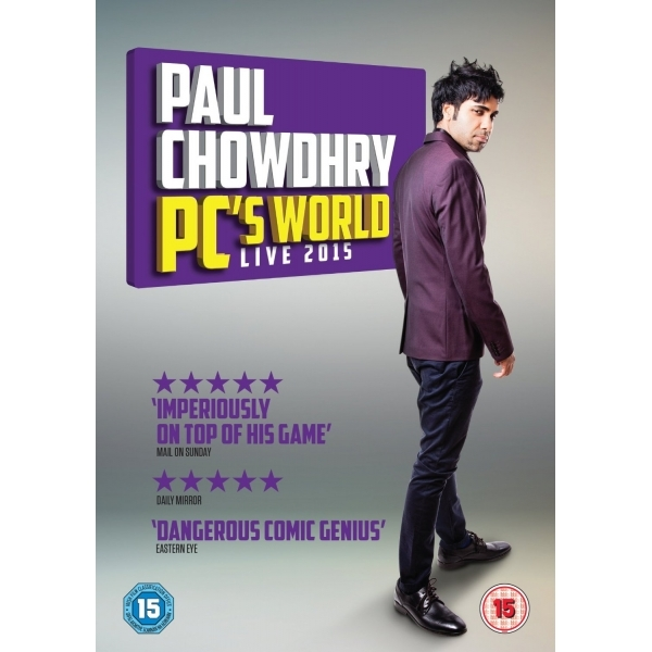 Paul Chowdhry - PC's World DVD