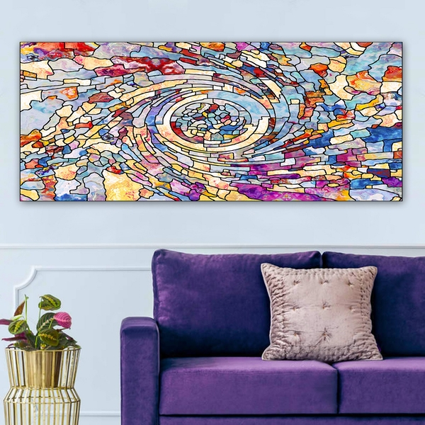 YTY608678174_50120 Multicolor Decorative Canvas Painting