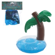 Palm Tree Funky Tropical Inflatable Drinks Holder