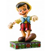 Disney Traditions Pinocchio Lively Step Figurine