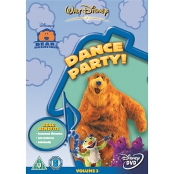 Bear In The Big Blue House Dance Party DVD
