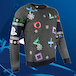 Playstation - Controller Symbols Unisex Christmas Jumpers Small - Image 3