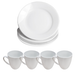 16 Piece White Dinner Set | M&W - Image 4