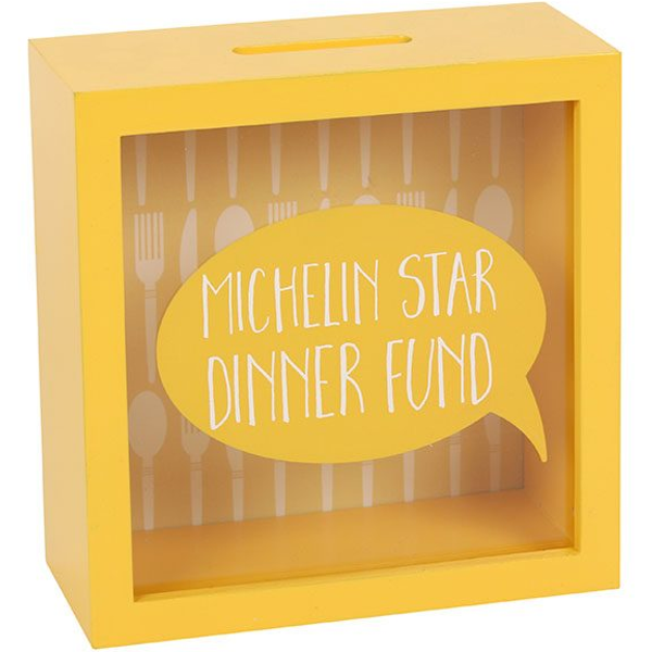 Michelin Star Dinner Money Box