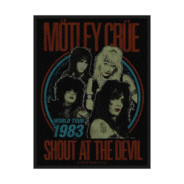 Motley Crue - Shout at the Devil Standard Patch
