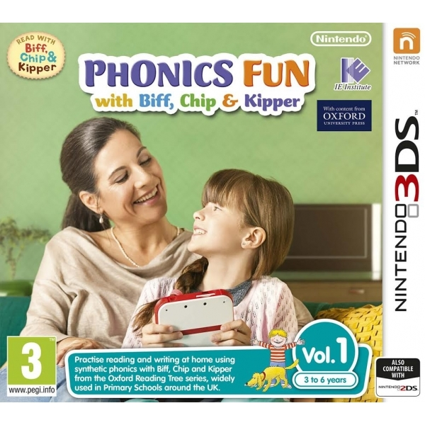 Phonics Fun with Biff, Chip & Kipper Volumes 1 3DS Game