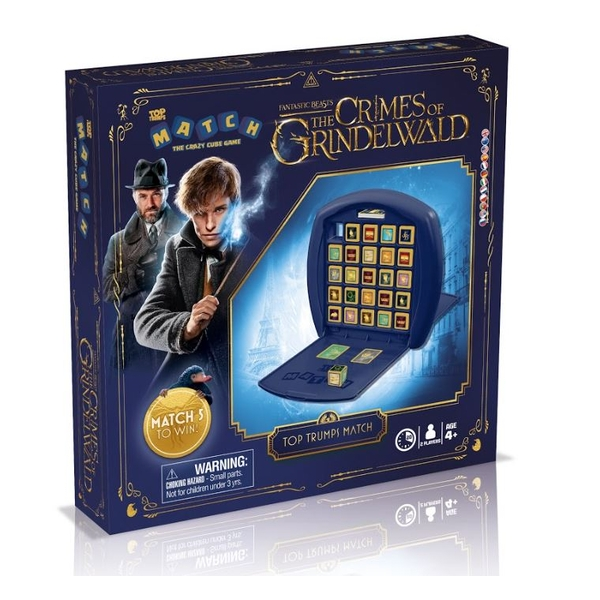 Top Trumps Match Harry Potter Fantastic Beasts Board Game - Image 1