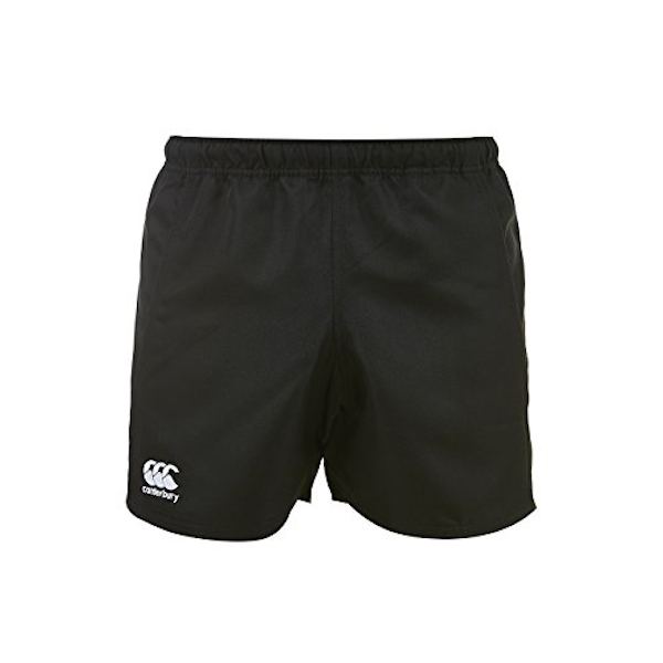 Canterbury Men's Advantage Rugby Shorts, Black, Small (30-32 inches)