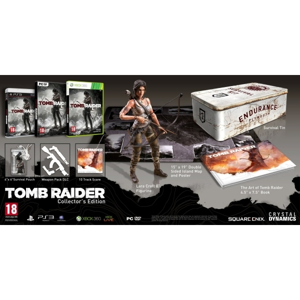 Tomb Raider Collector's Edition Game PC