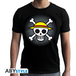 One Piece - Skull With Map Men's X-Small T-Shirt - Black - Image 2