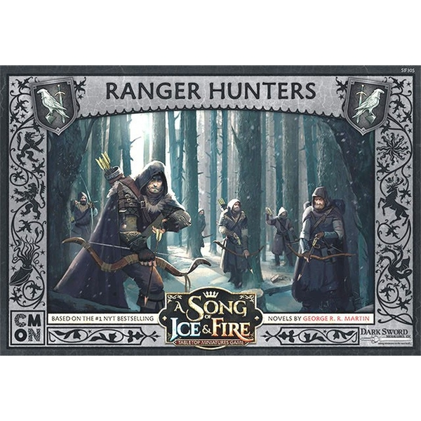 A Song Of Ice and Fire Night's Watch Ranger Hunters Expansion