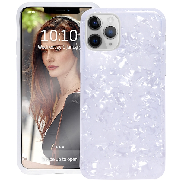Groov-e GVMP011 Design Case for iPhone 11 Pro - Pearl White