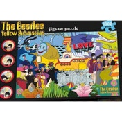 Ex-Display The Beatles Yellow Submarine 1000 Piece Jigsaw Puzzle Used - Like New