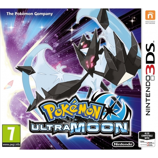 Ex-Display Pokemon Ultra Moon 3DS Game Used - Like New