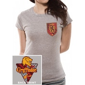 Harry Potter - House Gryffindor Women's XX-Large T-Shirt - Grey