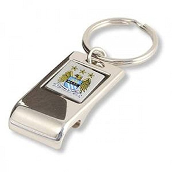 Manchester City FC Executive Bottle Opener Key Ring