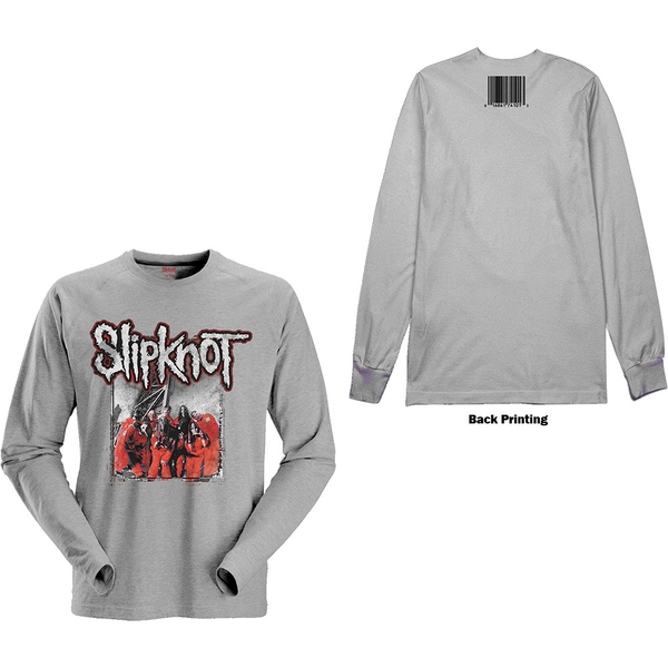 Slipknot - Self-Titled Unisex Medium T-Shirt - Grey
