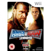 WWE Smackdown vs Raw 2009 Game Wii