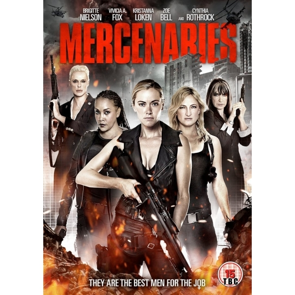 Mercenaries (2015) DVD