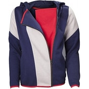 Assassin's Creed Unity Female Stripe Cape Hoodie X-Large Blue/White