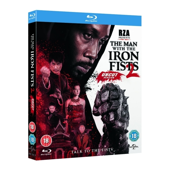 The Man With The Iron Fists 2 Blu-ray