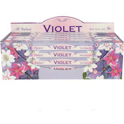 Pack of 25 Tulasi Violet Incense
