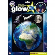 The Original Glow Stars Company Glow 3D Earth