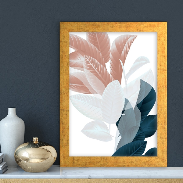AC7235018084 Multicolor Decorative Framed MDF Painting
