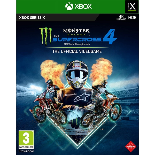 Monster Energy Supercross The Official Videogame 4 Xbox Series X Game