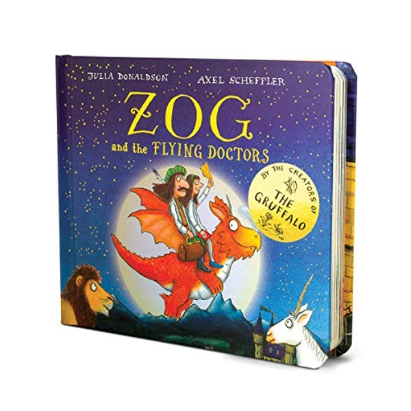 Zog and the Flying Doctors Gift edition  Board book 2018