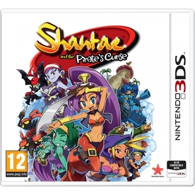 Shantae And The Pirate's Curse 3DS Game