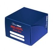 Ultra Pro Blue Pro Dual 180 Cards Deck Box
