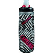Camelbak Podium Chill Bottle, Black/Pink - 0.7 Litre