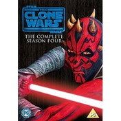 Star Wars Clone Wars Series 4 DVD