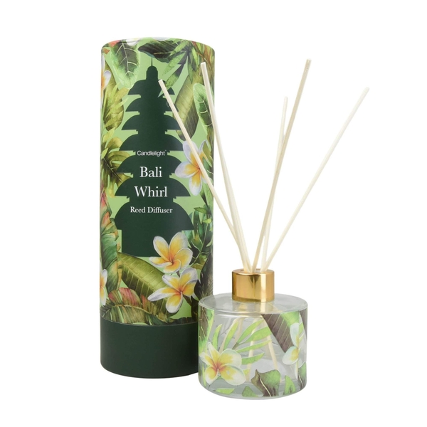 Bali Whirl Reed Diffuser in Gift Box Sea Salt  Scent 150ml