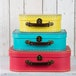 Sass & Belle Brights (Set of 3) Retro Suitcases - Image 2